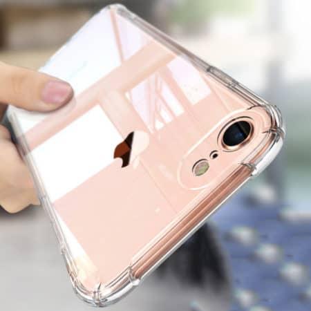 Transparant iPhone hoesje van zacht flexibel TPU materiaal